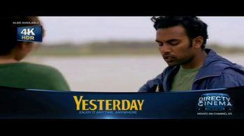DIRECTV Cinema TV Spot, 'Yesterday'