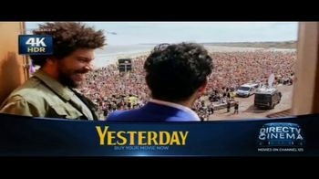 DIRECTV Cinema TV Spot, 'Yesterday'