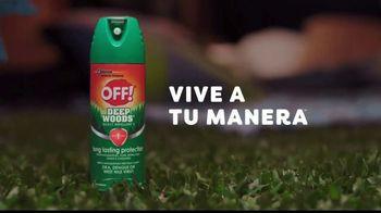 Off! Deep Woods TV Spot, 'Cine a tu manera' [Spanish] - Thumbnail 8