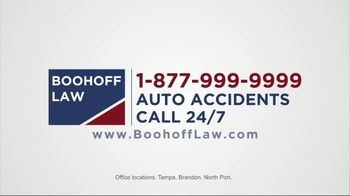 Boohoff Law TV Spot, 'Car Accident' - Thumbnail 8