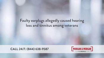 Morgan and Morgan Law Firm TV Spot, 'Consumer Alert: Military Ear Plugs' - Thumbnail 3