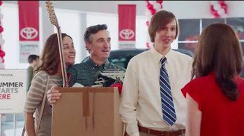 Toyota Summer Starts Here TV Spot, 'Got a Job' [T2]