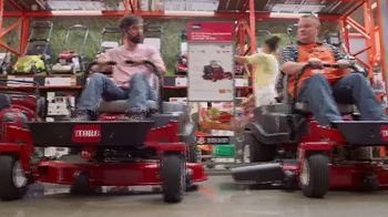 The Home Depot TV Spot, 'Latest Innovations: RYOBI Trimmer and Blower'