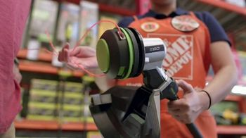 The Home Depot TV Spot, 'Latest Innovations: RYOBI Trimmer and Blower' - Thumbnail 4