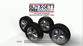 National Tire & Battery TV Spot, 'Buy Three, Get One Free: Mail-In Rebate' - Thumbnail 3