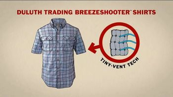 Duluth Trading Company Breezeshooter Shirts TV Spot, 'Aerate' - Thumbnail 6