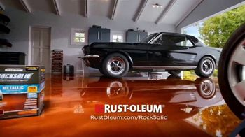 Rust-Oleum RockSolid TV Spot, 'Dream Garage: RockSolid' - Thumbnail 10