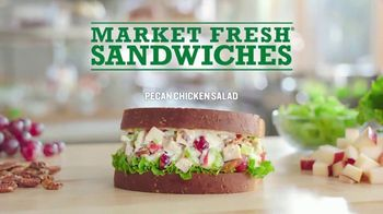 Arby's Market Fresh Pecan Chicken Salad TV Spot, 'Sliced' - Thumbnail 2