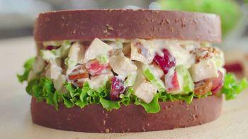Arby's Market Fresh Pecan Chicken Salad TV Spot, 'Sliced' - 1452 commercial airings