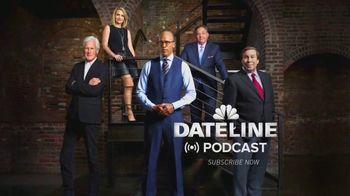 Dateline Podcast TV Spot, 'True Crime Fix'