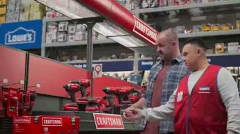 Lowe's TV Spot, 'Handyman: Craftsman Trimmer and Kit'