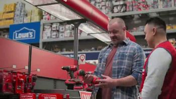 Lowe's TV Spot, 'Handyman: Craftsman Trimmer and Kit' - Thumbnail 2