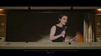 Amazon Fire TV Cube TV Spot, 'Villain: The Marvelous Mrs. Maisel' - Thumbnail 6