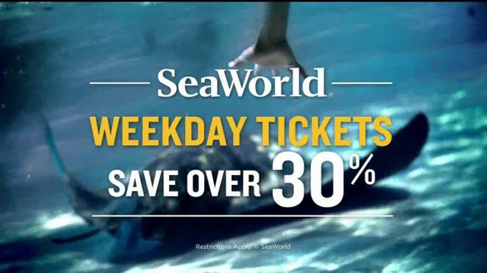 Seaworld Tv Commercial Tidal Twister Save 30 Percent Video