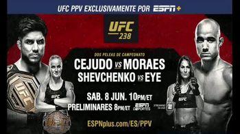ESPN+ TV Spot, 'UFC 238: Cejudo vs. Morales' [Spanish] - 154 commercial airings