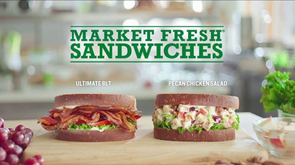 Arby's TV Commercial, 'Market Fresh: Two Trips' Featuring H. Jon Benjamin