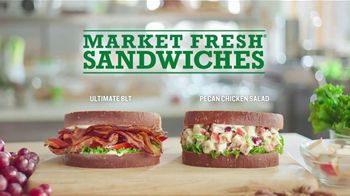 Arby's TV Spot, 'Market Fresh: Two Trips' Featuring H. Jon Benjamin - 1486 commercial airings