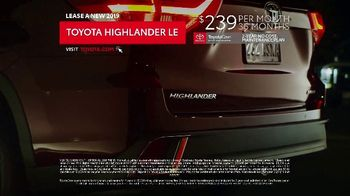2019 Toyota Highlander LE TV Spot, 'Prom Night' [T2] - Thumbnail 6