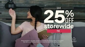 Ashley HomeStore One Day Sale TV Spot, '25% Off: No Minimum Purchase' Song by Midnight Riot - Thumbnail 4
