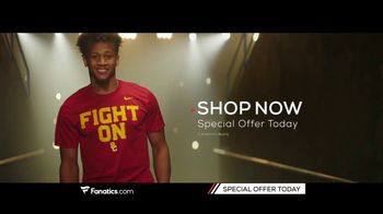 Fanatics.com TV Spot, 'Support Your Favorite College'