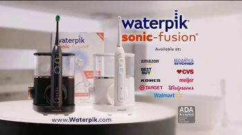 Waterpik Sonic-Fusion TV Spot, 'Big News' Featuring Amy Motta - Thumbnail 9