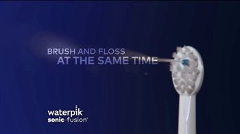 Waterpik Sonic-Fusion TV Spot, 'Big News' Featuring Amy Motta - Thumbnail 1