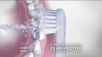 Waterpik Sonic-Fusion TV Spot, 'Big News' Featuring Amy Motta - Thumbnail 8