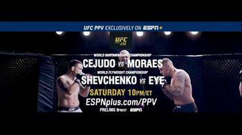 ESPN+ TV Spot, 'UFC 238: Cejudo vs. Moraes: Two Title Fights' - 149 commercial airings
