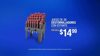 NAPA Auto Parts TV Spot, 'Tu idioma: destornilladores' [Spanish] - Thumbnail 9