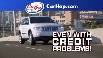 CarHop Auto Sales & Finance TV Spot, 'Credit Problems: $200 Down'