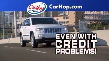 CarHop Auto Sales & Finance TV Spot, 'Credit Problems: $200 Down'