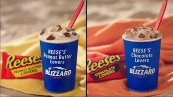 Dairy Queen TV Spot, 'Reese's Lovers BLIZZARD Treats' - Thumbnail 2