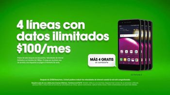 Cricket Wireless TV Spot, 'Secreto: LG Fortune 2' [Spanish] - Thumbnail 5