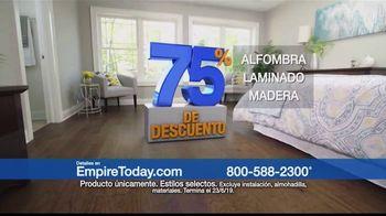 Empire Today Venta Gigante de 75 Por Ciento de Descuento TV Spot, 'Renueva tus pisos' [Spanish] - Thumbnail 7