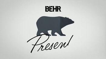 BEHR Premium Plus TV Spot, 'A Job Well Done: $24.98' - Thumbnail 1