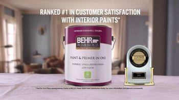 BEHR Premium Plus TV Spot, 'A Job Well Done: $24.98' - Thumbnail 6