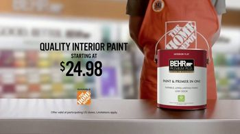 BEHR Premium Plus TV Spot, 'A Job Well Done: $24.98'