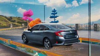 2019 Honda Civic LX TV Spot, 'The Whole Package' [T2] - Thumbnail 2
