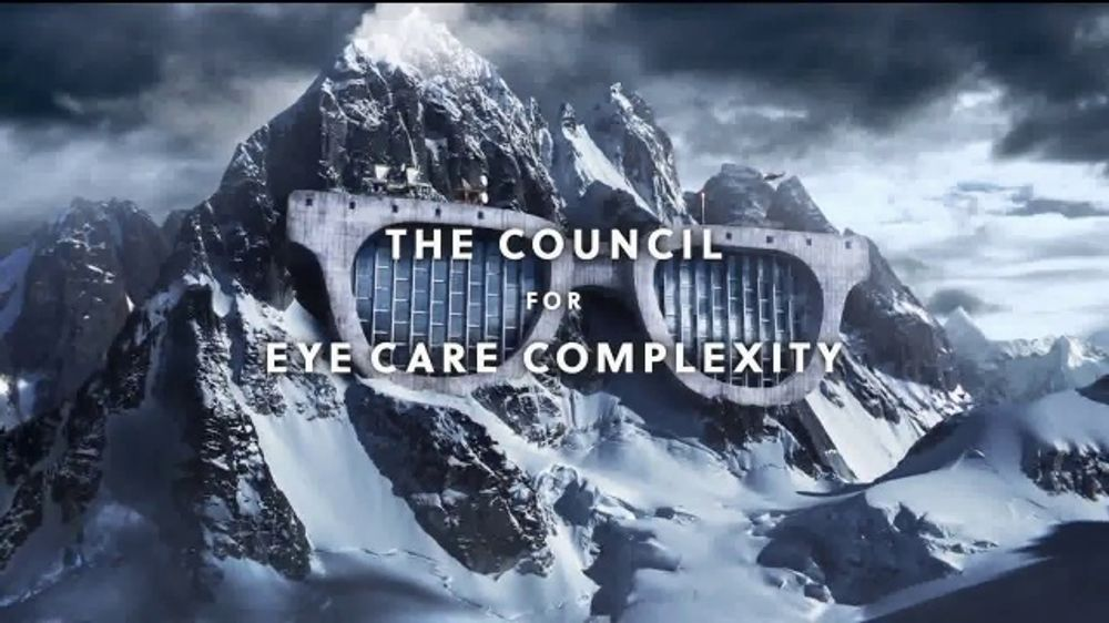 Visionworks TV Commercial, 'The Council for Eye Care Complexity'