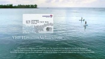 Hawaiian Airlines World Elite Mastercard TV Spot, 'Special Offer' - Thumbnail 9