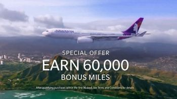 Hawaiian Airlines World Elite Mastercard TV Spot, 'Special Offer' - Thumbnail 2