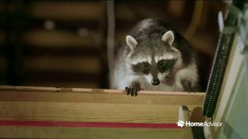 HomeAdvisor TV Spot, 'Be Prepared: Critter'