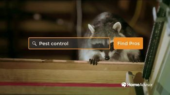 HomeAdvisor TV Spot, 'Be Prepared: Critter' - Thumbnail 3