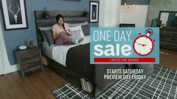 Ashley HomeStore One Day Sale TV Spot, 'Up to 25%' Song by Midnight Riot - Thumbnail 3