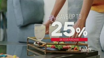 Ashley HomeStore One Day Sale TV Spot, 'Up to 25%' Song by Midnight Riot - Thumbnail 5