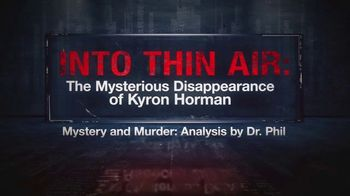 Mystery and Murder: Analysis by Dr. Phil TV Spot, 'Into Thin Air' - Thumbnail 3
