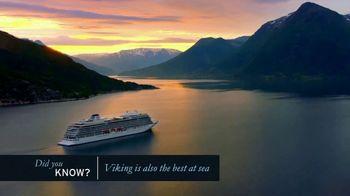 Viking Cruises Anniversary Sale TV Spot, 'Ocean' - Thumbnail 3