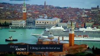 Viking Cruises Anniversary Sale TV Spot, 'Ocean' - Thumbnail 4