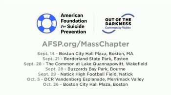 American Foundation for Suicide Prevention TV Spot, 'Register for a New England Walk' - Thumbnail 4