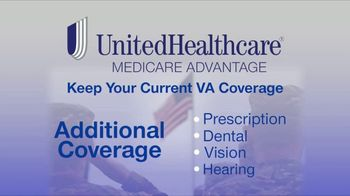 UnitedHealthcare Medicare Advantage TV Spot, 'Keep Your Current VA Coverage' - Thumbnail 4
